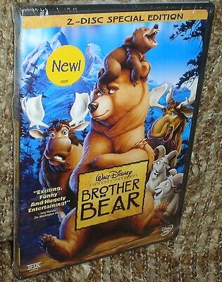 Walt Disney's Brother Bear 2-Disc Special Edition Dvd, New And Sealed, Funny