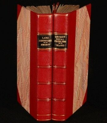 1819-1843 2vol Anthony NESBITT and Miles BLAND
