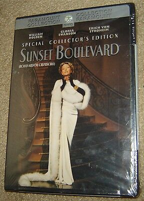 Sunset Boulevard Special Collector's Edition Dvd, New & Sealed, Region 1, Rare!