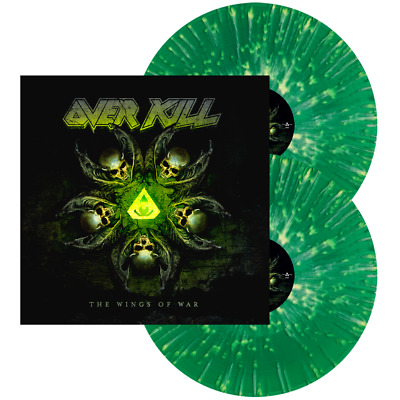 Overkill - The Wings of War (2-LP Vinyl Green w/Yellow Splatter, new & sealed)