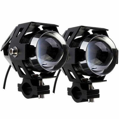 Coppia Faretti Supplementari Nero Led 15W Cb500X Transalp Dominator Shadow