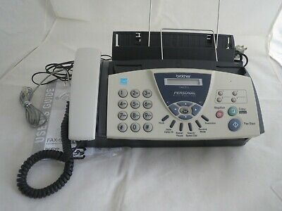 Brother personal plain paper fax machine fax- 575