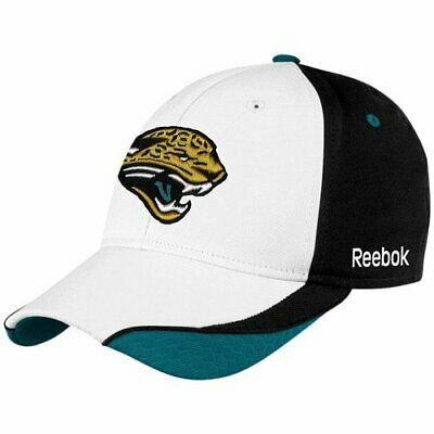 dc962a70b9426 Jacksonville Jaguars NFL Reebok Player YOUTH 4-7 Years Hat Cap White Black  Flex