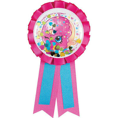 40th Today Male Birthday Blue  Badge Rosette  Deluxe Award Ribbon
