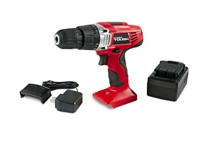 Hyper Tough Ni Cad 18 Volt Cordless Drill Plus Rechargeable Battery and Charger
