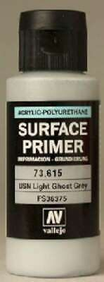 Vallejo Acrylic Paints Surface Primer USN Light Ghost Grey 60ml 8429551736152
