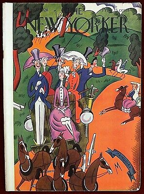 The New Yorker Magazine ~ May 12, 1928 ~ Julian De Miskey Carriages Horse Ride