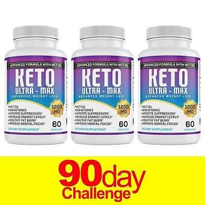 ☀ Best Keto Diet Pills 1200mg  Burn Fat- Advanced Ketosis Weight Loss Capsules