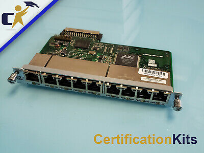 Genuine Cisco HWIC-D-9ESW-PoE 9-port 10//100 PoE EtherSwitch Invoice 1 Yr Wty