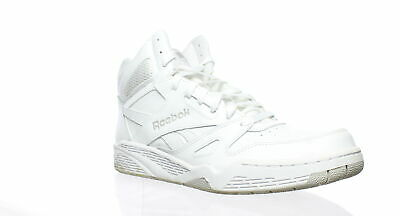 Reebok Mens Royal Bb4500 Hi White Steel Basketball Shoes Size 10.5 (187967) 92a3b97c0