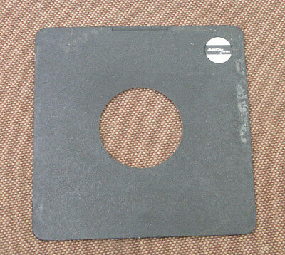 Arca Swiss  171mm x 171mm  lens board panel cover ridged copal 3 hole 65.7mm