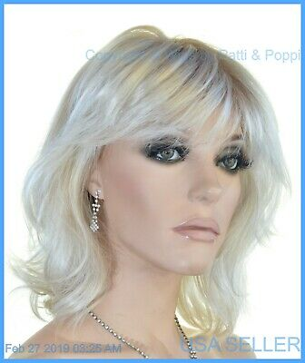 Stop Traffic Raquel Welch Wig  Mono Crown SS23/61 Cream Rooted Blond