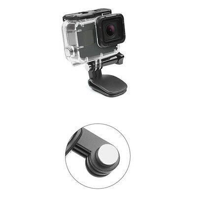 Quick Release Backpack Clip Clamp Hat Gopro Rotary Mount 360° Camera B