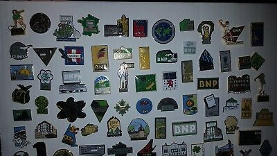 Pins Pin Lot Banque Bank Bnp B.n.p Agence France Région Collection Logo Argent