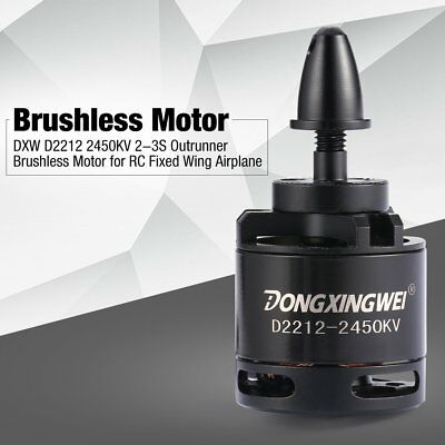 DXW D2212 2450KV 2-3S Outrunner Brushless Motor for RC Fixed Wing Airplane JN