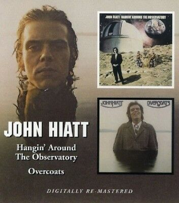 John Hiatt Hangin' Around The Observatory/Overcoats CD NEW SEALED Remastered