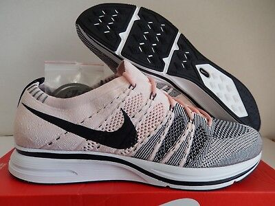 f5bc57e6aed7 NIKE FLYKNIT TRAINER Sunset Tint-Black-White Sz 15  Ah8396-600 ...