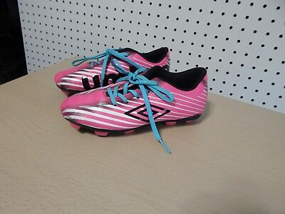 664b585dd BRAVA BLACK AND Pink Soccer Cleats Girls Size 11 D Toddler -  14.99 ...