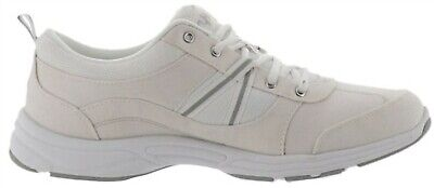 9e21b09cb627 Ryka Tempo Canvas Stain Water Resistant Sneakers White 11M NEW A252367