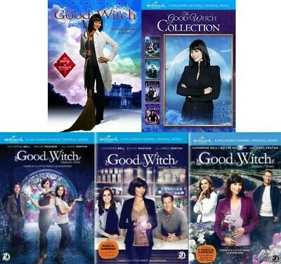 THE GOOD WITCH 5 MOVIES + TV SERIES SEASONS 1 2 3 New Sealed DVD