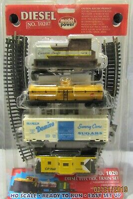 MODEL POWER HO Scale Canadian Pacific Diesel Train Complete Set #1020 New  Sealed
