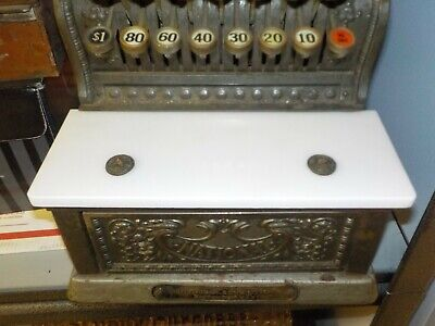 ITALIAN MARBLE COIN SHELF 313  SMALL SIZE NCR  CASH REGISTER  and others