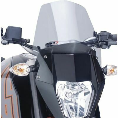 WINDSCREEN PUIG KTM 125 Duke 11-16 dark smoke fly screen
