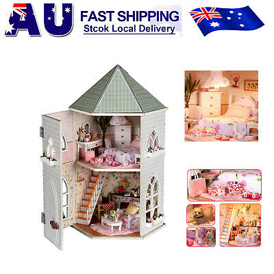 DIY Handcraft Miniature Project Kit Our Love Fortress Wooden Dolls House