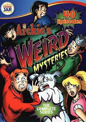 Archies Weird Mysteries: The Complete Series (DVD, 2012, 4-Disc Set, 40...