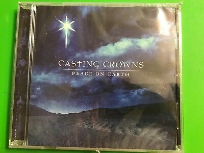 New Casting Crowns Peace on Earth CD Christian Christmas Holiday Music Jesus God