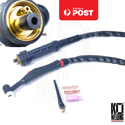 17F TIG Torch KIT for UNIMIG Razerweld 205/250/COMPACT/MTS 4m Euro Connect 3IN1