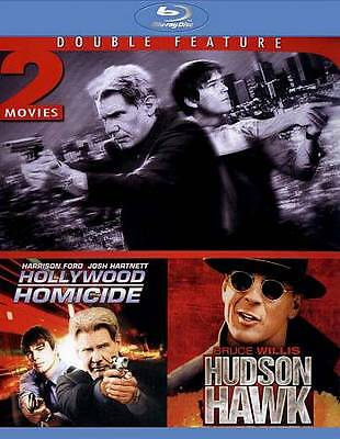 Double Feature Blu-Ray Hollywood Homicide/Hudson Hawk Ford Willis Harnett Coburn