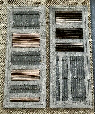 Sale! Pair of Large Modern Wall Art Abstract Clay Textured
