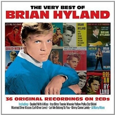 Brian Hyland Very Best Of 2-CD NEW SEALED Sealed With A Kiss/Itsy Bitsy Teenie..