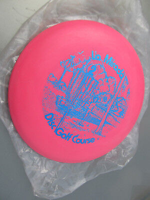 INNOVA AERO 1980s 176gm Very Rare La Mirada Blue Hole 2 Disc Golf Course stamp