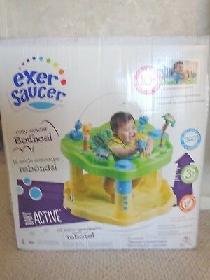 730afe7c3baf NEW EXERSAUCER BY Evenflo Fast Fold +Go  D  is for Dino Activity ...