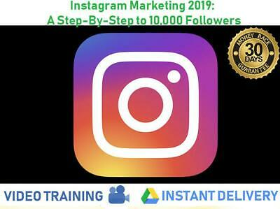 Professional Video Training Marketing 2019: A Step-By-Step to 10,000 Followers