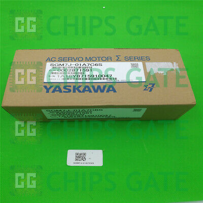 1PCS Brand NEW IN BOX Yaskawa Servo motor SGM7J-01A7C6S Fast Ship