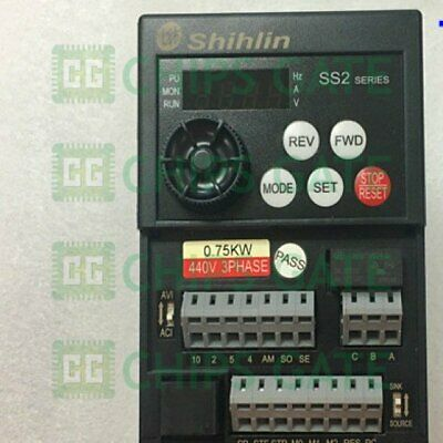 1PCS USED SHIHLIN inverter SS2-043-0 75K 0 75KW 380V Tested in Good  Condition