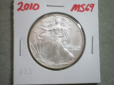 2010 1 Oz AMERICAN SILVER EAGLE/ MISS LIBERTY