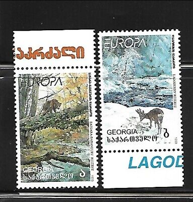 GEORGIA Sc 210-11 NH SET of 1999 - EUROPA CEPT