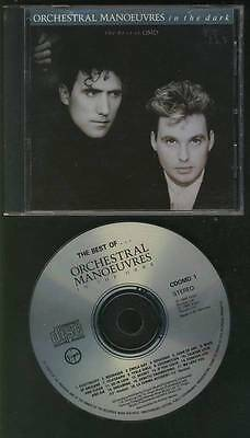 ORCHESTRAL MANOEUVRES IN THE DARK The Best Of OMD 1988 WEST GERMANY ISSUE CDOMD1
