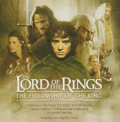 Howard Shore The Lord Of The Rings The Fellowship Of The Ring Soundtrack CD