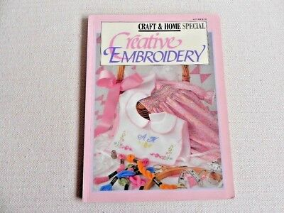 Creative Embroidery - Soft Cover Book