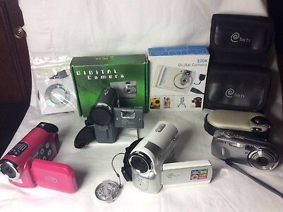 Big Collection Of Camcorders And Digital Cameras All Working And In Great Shape