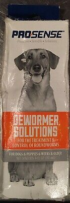 PRO-Sense Dewormer Solution 4oz Prosense New In Box December 2019 Exp. Pictures!