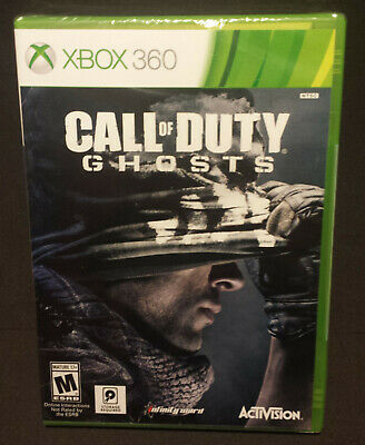 Call of Duty Ghosts Microsoft Xbox 360 Brand NEW Video Game Factory Sealed