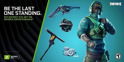 Nvidia Fortnite Bundle Counterattack Set Code/2000 V-Bucks (GTX CARD REQUIRED)