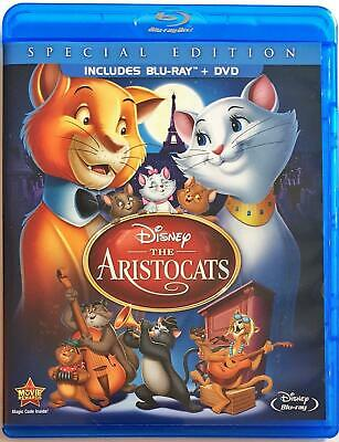 Blu-Ray The Aristocats Special Edition +Dvd Combo Set Disney's New/sealed