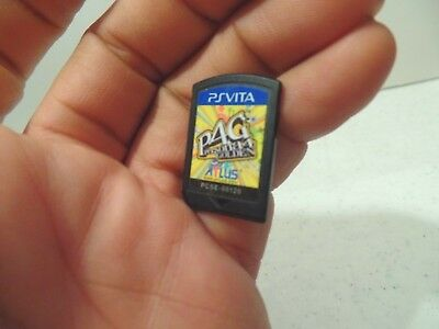 Persona 4: The Golden (Sony PlayStation Vita, 2012) Authentic game only